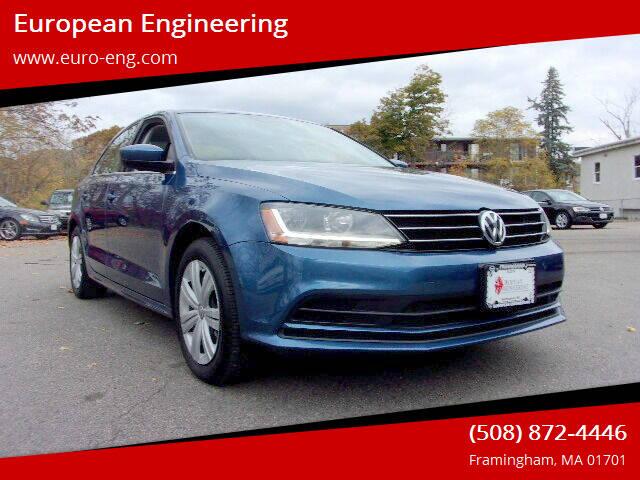 2017 Volkswagen Jetta for sale at European Engineering in Framingham MA