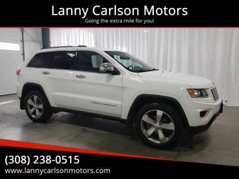 2016 Jeep Grand Cherokee for sale at Lanny Carlson Motors in Kearney NE