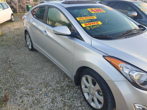2013 Hyundai Elantra for sale at Finish Line Auto LLC in Luling LA