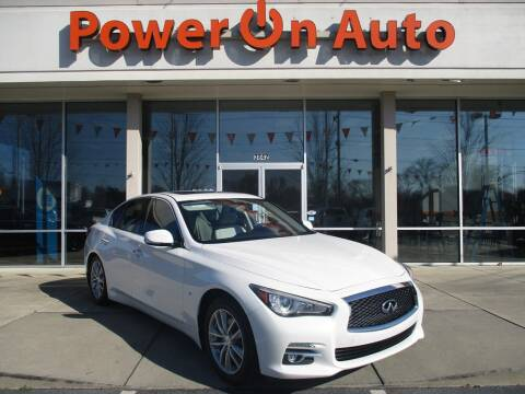 2015 Infiniti Q50 for sale at Power On Auto LLC in Monroe NC