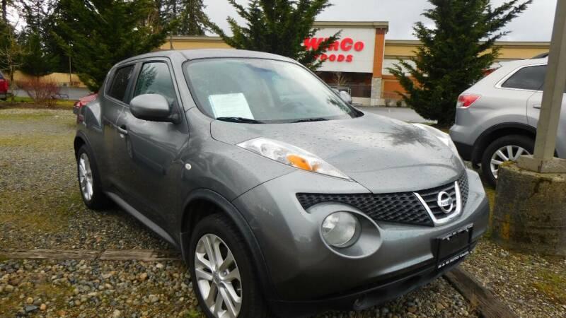 2012 Nissan JUKE for sale at M & M Auto Sales LLc in Olympia WA