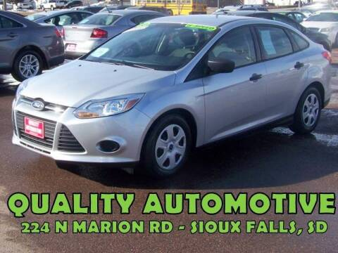2012 Ford Focus for sale at Quality Automotive in Sioux Falls SD