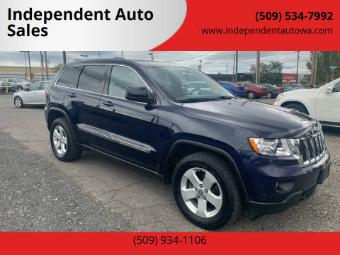 2012 Jeep Grand Cherokee for sale at Independent Auto Sales in Spokane Valley WA