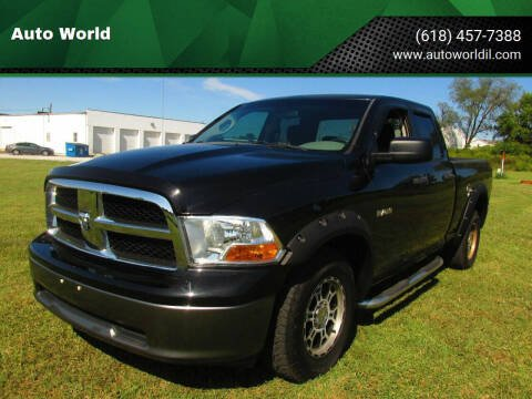 2010 Dodge Ram Pickup 1500 for sale at Auto World in Carbondale IL
