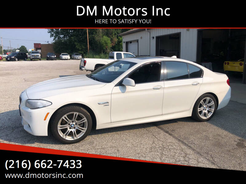 2012 BMW 5 Series for sale at DM Motors Inc in Maple Heights OH