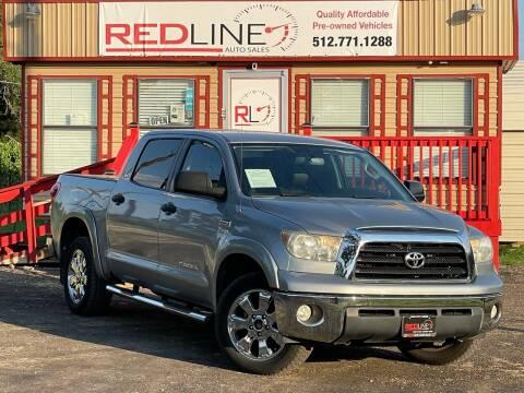 2008 Toyota Tundra for sale at REDLINE AUTO SALES LLC in Cedar Creek TX