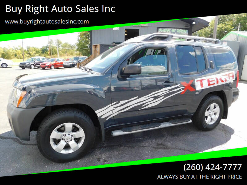 2010 Nissan Xterra for sale at Buy Right Auto Sales Inc in Fort Wayne IN
