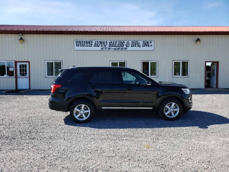 2017 Ford Explorer for sale at White Auto Sales Inc in Summersville WV