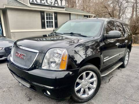 2012 GMC Yukon for sale at Regal Auto Sales in Marietta GA