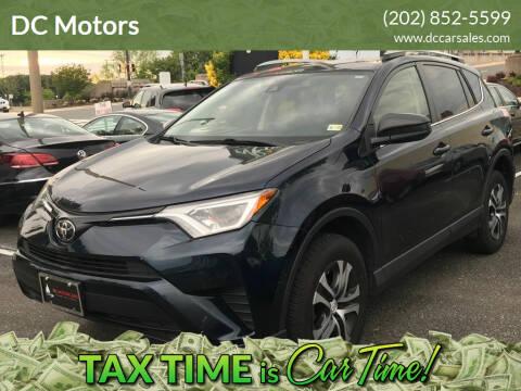 2017 Toyota RAV4 for sale at DC Motors in Springfield VA