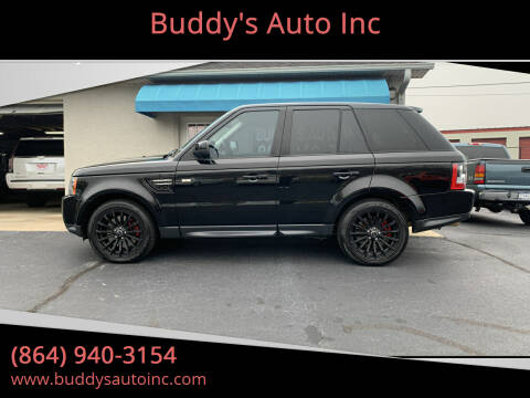 2013 Land Rover Range Rover Sport for sale at Buddy's Auto Inc in Pendleton, SC