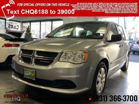 2014 Dodge Grand Caravan for sale at CERTIFIED HEADQUARTERS in St James NY