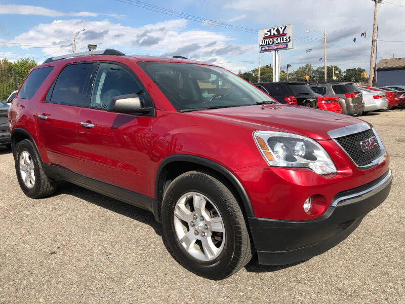 2012 GMC Acadia for sale at SKY AUTO SALES in Detroit MI