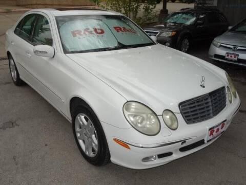 2003 Mercedes-Benz E-Class for sale at R & D Motors in Austin TX