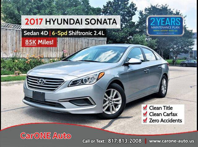 2017 Hyundai Sonata for sale in Garland, TX