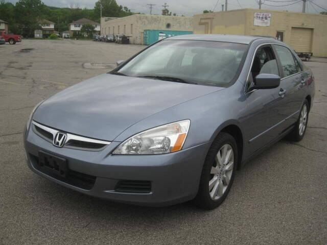 2007 Honda Accord for sale at ELITE AUTOMOTIVE in Euclid OH