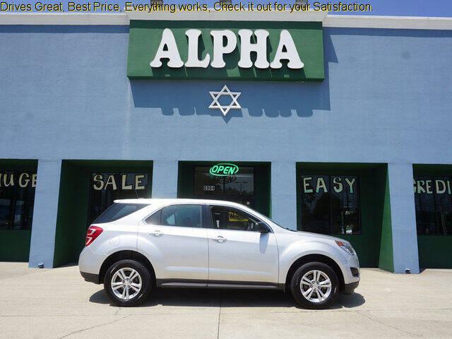 2017 Chevrolet Equinox for sale at ALPHA AUTOMOBILE SALES, LLC in Lafayette LA