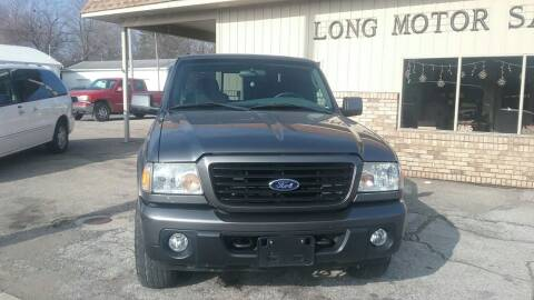 2008 Ford Ranger for sale at Long Motor Sales in Tecumseh MI