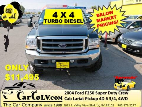 2004 Ford F-250 Super Duty for sale at The Car Company in Las Vegas NV