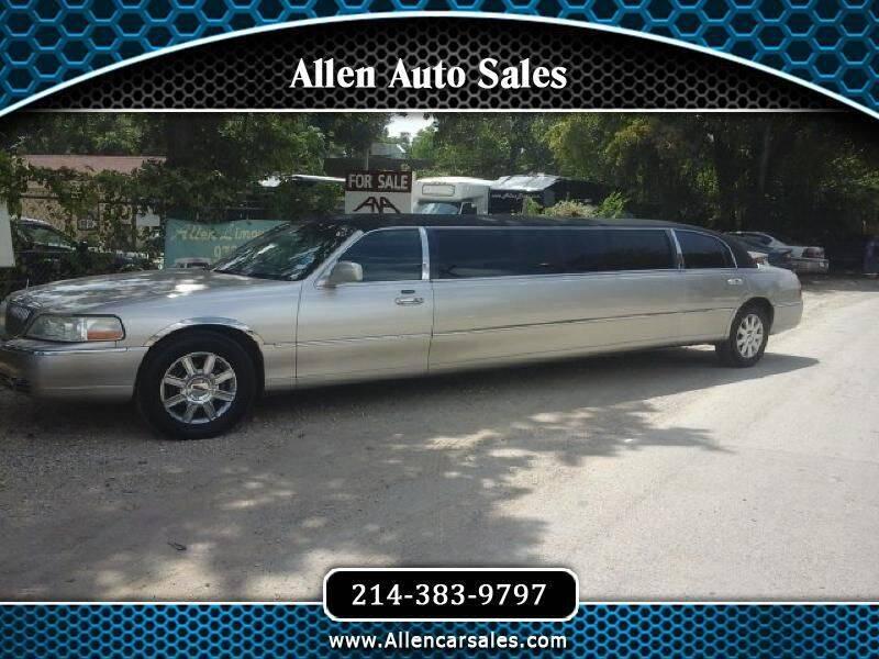 2006 Lincoln Town Car for sale at Allen Auto Sales in Dallas TX