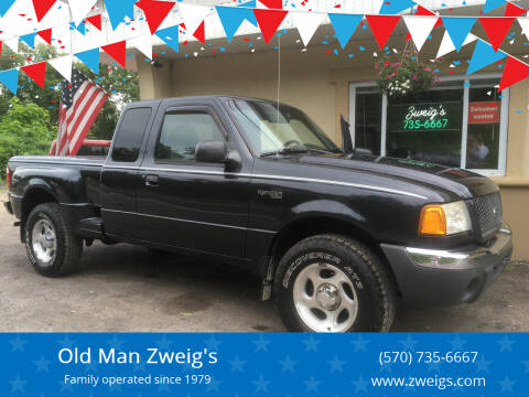 2001 Ford Ranger for sale at Old Man Zweig's in Plymouth Township PA