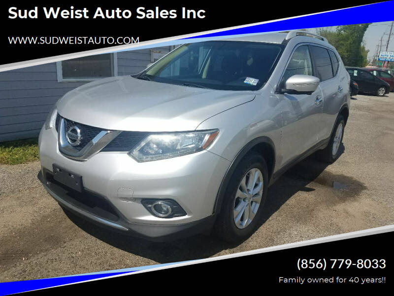 2014 Nissan Rogue for sale at Sud Weist Auto Sales Inc in Maple Shade NJ