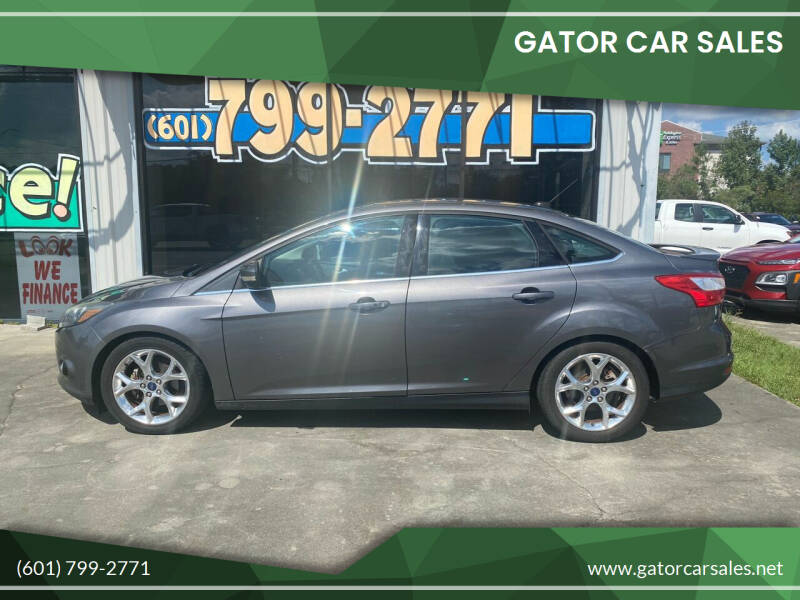 2014 Ford Focus for sale at Gator Car Sales in Picayune MS