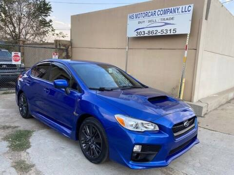 2015 Subaru WRX for sale at His Motorcar Company in Englewood CO