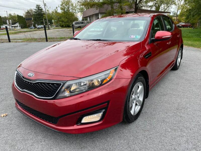 2014 Kia Optima for sale at M4 Motorsports in Kutztown PA