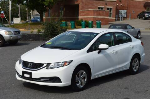2014 Honda Civic for sale at LARIN AUTO in Norwood MA