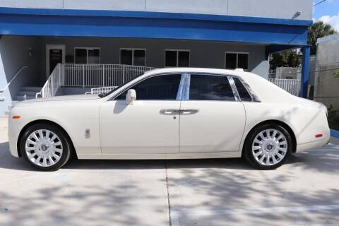 2018 Rolls-Royce Phantom for sale at PERFORMANCE AUTO WHOLESALERS in Miami FL