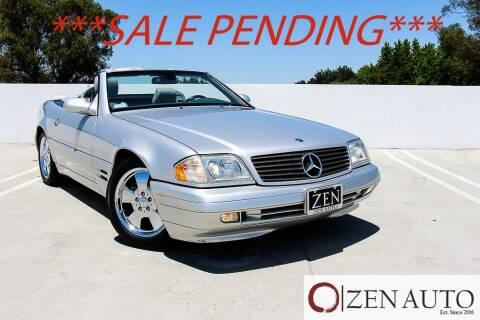 2000 Mercedes-Benz SL-Class for sale at Zen Auto Sales in Sacramento CA