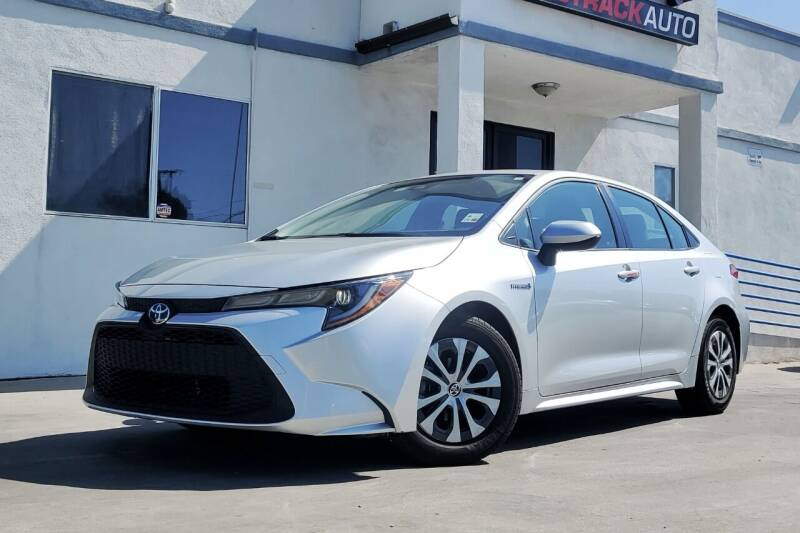 2020 Toyota Corolla Hybrid for sale at Fastrack Auto Inc in Rosemead CA