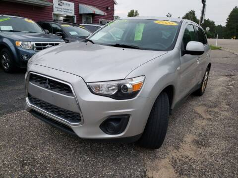 2014 Mitsubishi Outlander Sport for sale at Hwy 13 Motors in Wisconsin Dells WI