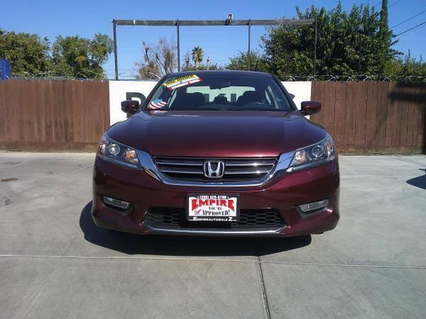 2013 Honda Accord for sale at Empire Auto Sales in Modesto CA