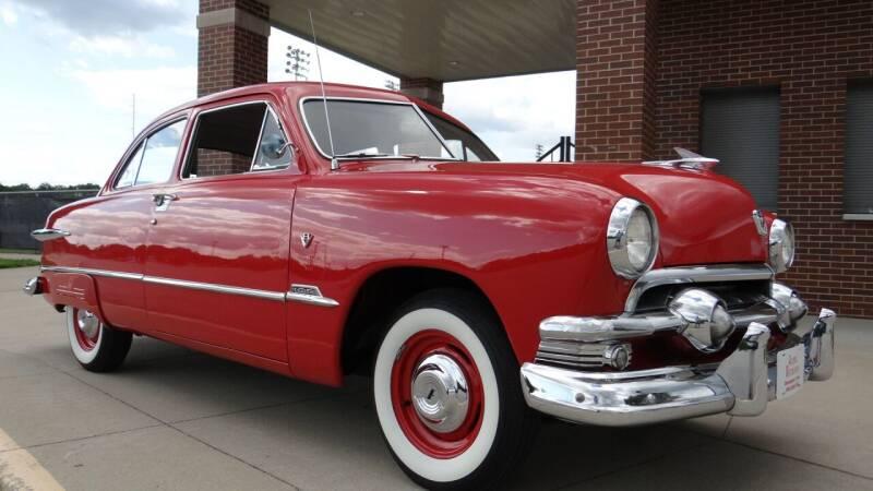 1951 Ford CUSTOM DELUXE for sale at Klemme Klassic Kars in Davenport IA