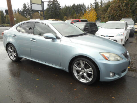 2009 Lexus IS 250 for sale at Lino's Autos Inc in Vancouver WA