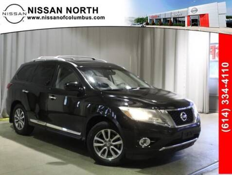 2013 Nissan Pathfinder for sale at Auto Center of Columbus in Columbus OH