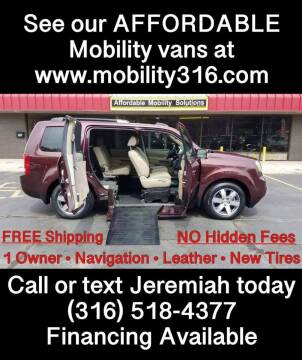 2014 Honda Pilot for sale at Affordable Mobility Solutions, LLC - Mobility/Wheelchair Accessible Inventory-Wichita in Wichita KS