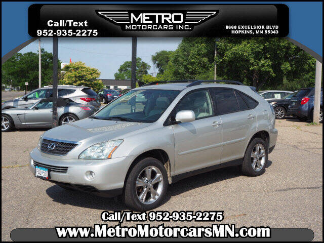 2007 Lexus RX 400h for sale at Metro Motorcars Inc in Hopkins MN