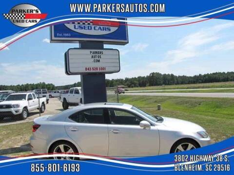 2012 Lexus IS 250 for sale at Parker's Used Cars in Blenheim SC