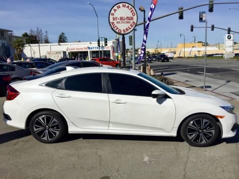 2016 Honda Civic for sale at San Mateo Auto Sales in San Mateo CA