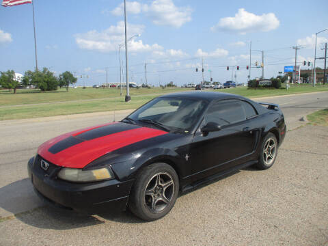 2003 Ford Mustang for sale at BUZZZ MOTORS in Moore OK