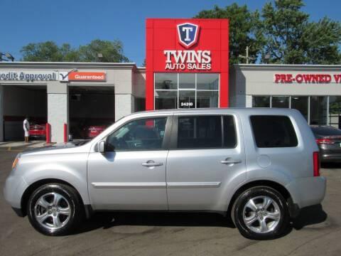 2014 Honda Pilot for sale at Twins Auto Sales Inc - Detroit in Detroit MI