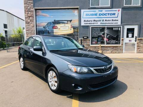 2008 Subaru Impreza for sale at The Subie Doctor in Denver CO