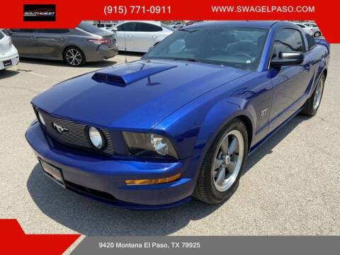 2005 Ford Mustang for sale at SOUTHWEST AUTO GROUP-EL PASO in El Paso TX