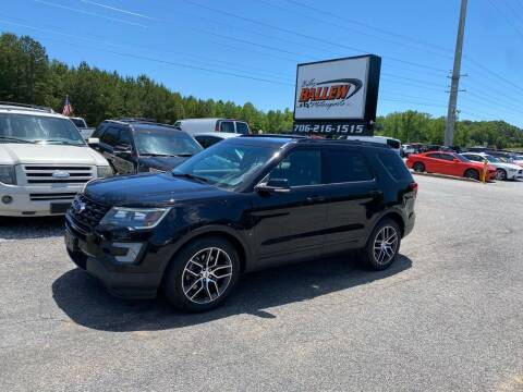 2016 Ford Explorer for sale at Billy Ballew Motorsports in Dawsonville GA
