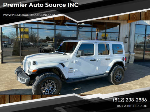 2019 Jeep Wrangler Unlimited for sale at Premier Auto Source INC in Terre Haute IN