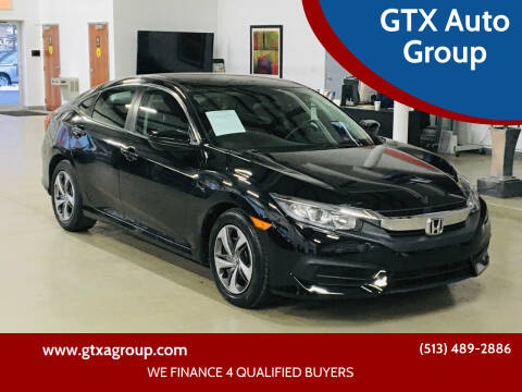 2016 Honda Civic for sale at GTX Auto Group in West Chester OH
