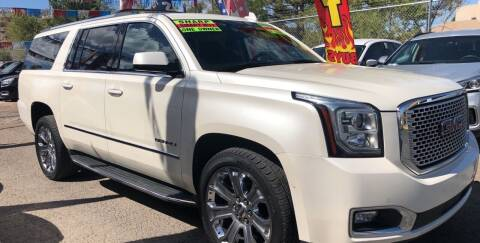 2015 GMC Yukon XL for sale at Duke City Auto LLC in Gallup NM